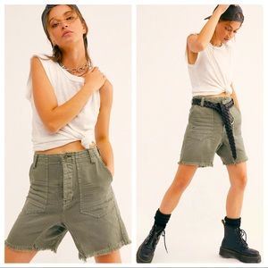 NWT Free People She's A Legend Harem Shorts